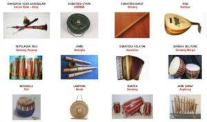 Alat Musik Tradisional Indonesia